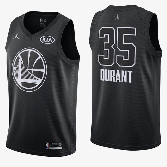 bb0e33d59a9c DURANT WARRIORS Mens All-Star Basketball Jersey XL